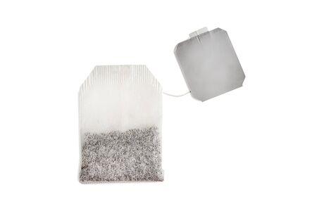 tea bag isolated on white background Zdjęcie Seryjne