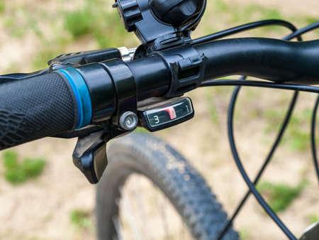 mtb bike speed switch handle, mountain bike, front derailleur, setup and repair