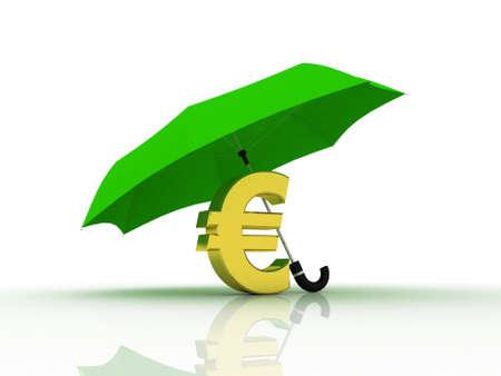 Euro under the umbrella of, 3D