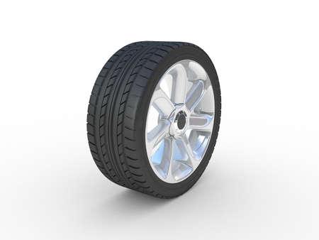 Wheels set, 3D