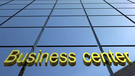 Business center building, 3D images Stock Photo - 16448961
