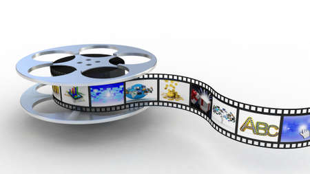 Filmstrip, 3D photo