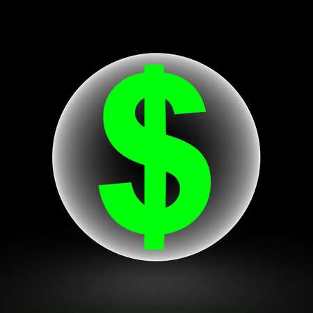 3d dollar Stock Photo - 16844914