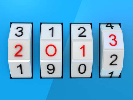 New Year Celebration 2013 Stock Photo - 17234451