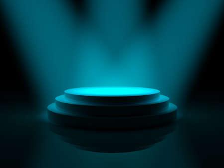 concert lighting against a color background ilustration photo