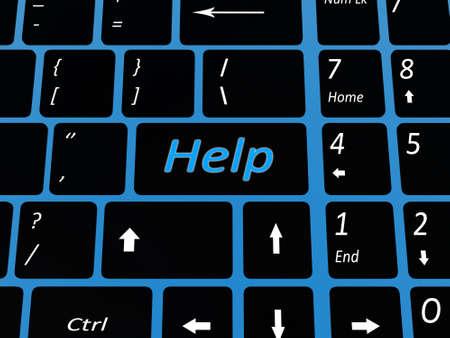 Keyboard emal key Stock Photo - 17234476