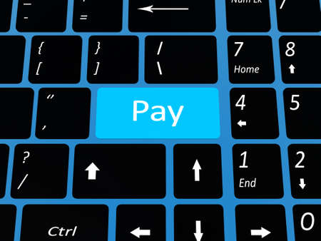 Keyboard emal key Stock Photo - 17234472