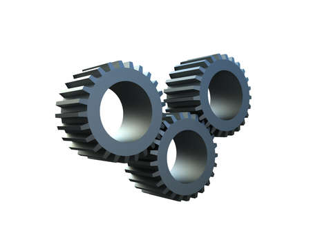 gear wheel: Three-dimensional  toothed wheels