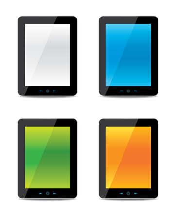 tablet computer Stock Vector - 18419451