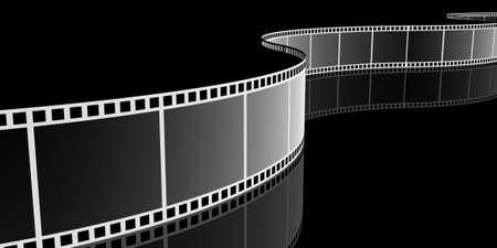 computer animation: Filmstrip, 3D