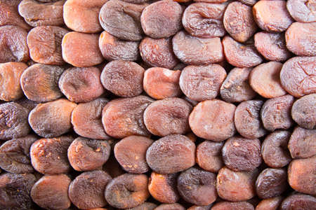 Dried apricots background photo