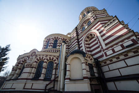 Orthodox cathedral. Sacredly Annunciation Cathedral. Kharkov. Ukraine