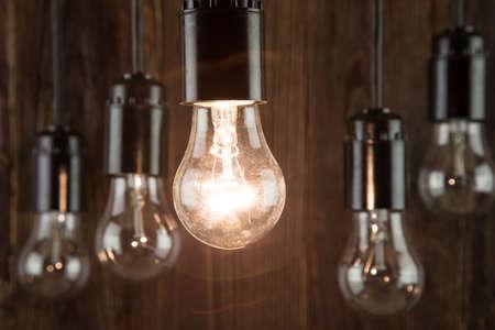 Incandescence bulbs Standard-Bild
