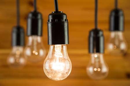 incandescence: Incandescence bulbs Stock Photo