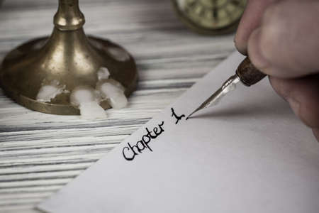 The signature is chapter 1 by a pen