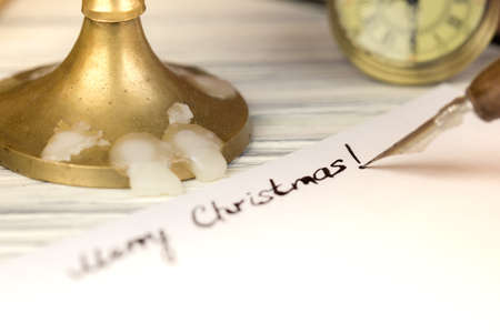 The signature is Merry Christmas by a pen