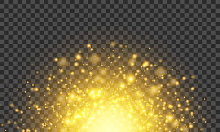 Bright galactic explosion. Cosmic Radiance. Volcanic lava. Firework effect. Vector illustrationk effect. Vector illustration Illustration