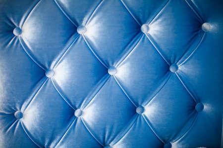 ソファの青いテクスチャ