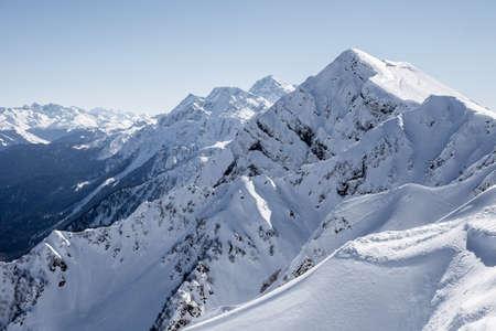 山のピーク
