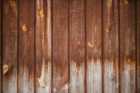Natural structure of wood surface. Detail fragment of vintage natural wooden texture. Pattern from rural brown wooden wall, fence, floor with copy space. Background of uneven vertical planked wood. Stock fotó
