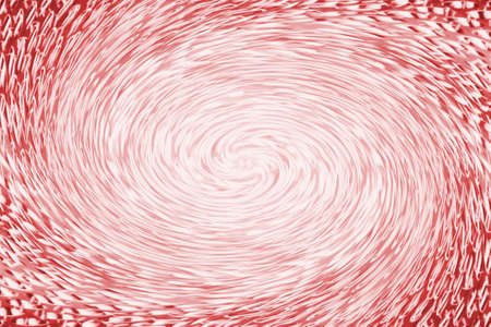 Accumulation of red clean energy in form of vortex funnel in center of shot. Fantastic background image of asymmetric wormhole.