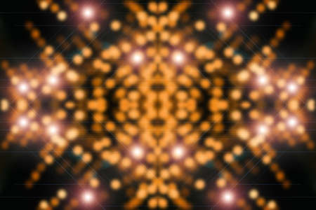 Quantum orange background. Digital backdrop. Sparkle virtual texture. Shiny surface design. Beautiful virtual reality. Abstract cyberspace with copy space. Microcircuit close-up. Digital element. Stock Photo