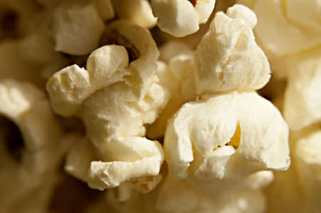 Close-up shot of delicious freshly popped popcorn Stock Photo - 16316249