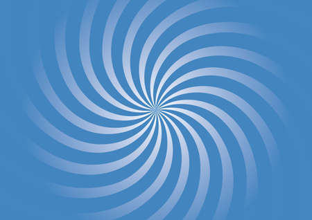 twisting: Abstract background with white twisting lines over blue Illustration