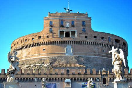 castel: Castel St Angelo Stock Photo
