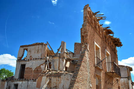 bombed: Bombed building