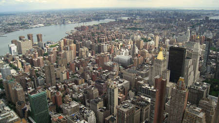 Aerial view of New York photo
