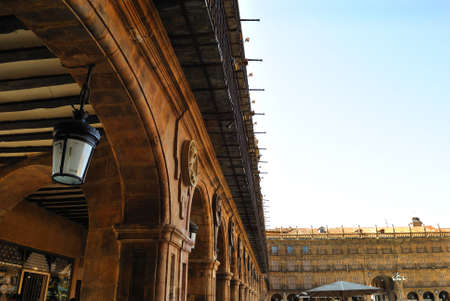 The Plaza Mayor of Salamanca photo