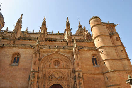 castilla: Cathedral of Salamanca Stock Photo