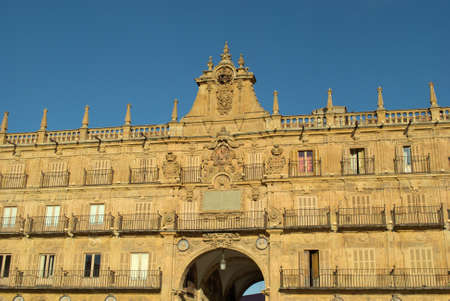 The Plaza Mayor of Salamanca