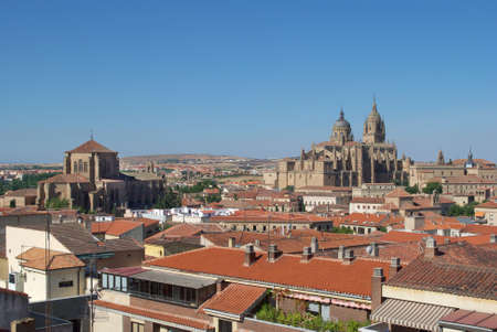 saint stephen cathedral: Aerial view of Salamanca