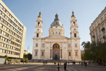 saint stephen cathedral: St  Stephen s Basilica in Budapest, Hungary