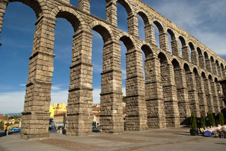 The Aqueduct of Segovia  Spain