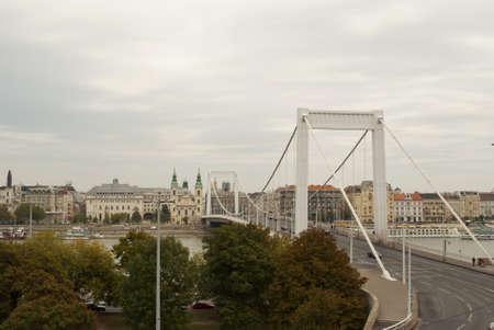 elisabeth: Elisabeth Bridge in Budapest  Hungary  Stock Photo