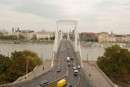 elisabeth: Elisabeth Bridge in Budapest  Hungary  Stock Photo