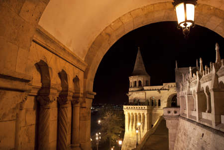 neo gothic: Fisherman Bastion in Budapest  Hungary