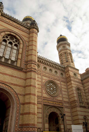 The Great Synagogue of Budapest  Hungary  photo