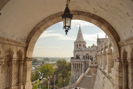 fisherman bastion: Fisherman Bastion in Budapest  Hungary
