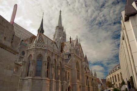 matthias: Matthias Church in Budapest  Hungary  Stock Photo