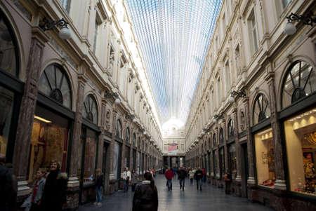 Galeries St  Hubert in Brussels
