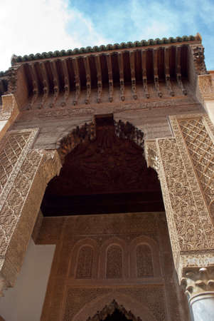 Le Tombe Saadiens a Marrakech Marocco photo