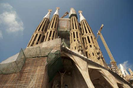 Sagrada Familia in barcelona, spain Stock Photo - 21699352