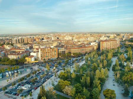 zaragoza: Aerial view of Zaragoza, Spain