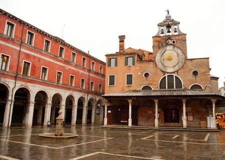 san giacomo: Church of San Giacomo in Venezia, Italy