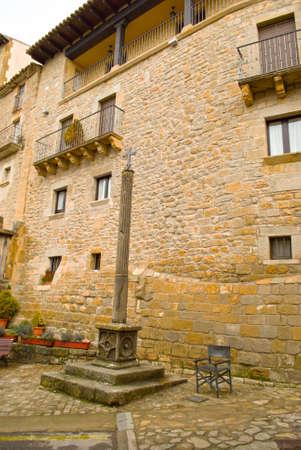 Sos del rey catolico in zaragoza,Spain Imagens