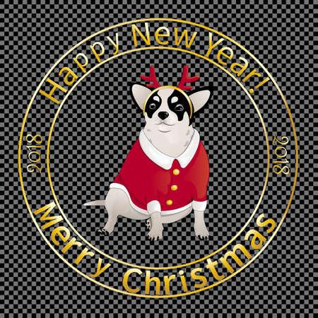 クリスマス封筒-07 を印刷します。